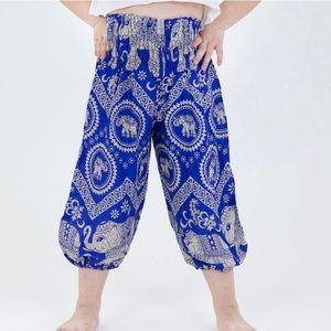 Imperial Elephant Kids Elephant Pants in Blue